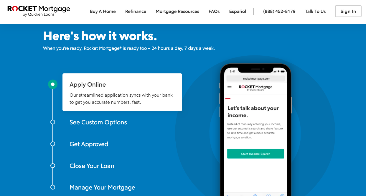 Rocket Mortgage Review 2019 | SmartAsset com
