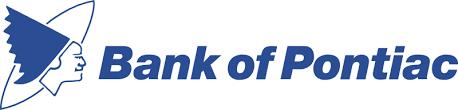 Bank of Pontiac logo