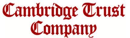 Cambridge Trust Company logo