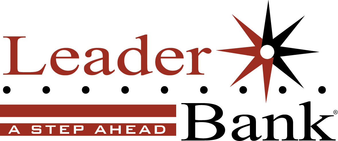 Leader Bank logo
