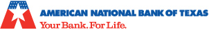 The American National Bank of Texas logo