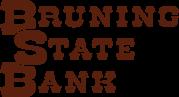 Bruning State Bank logo