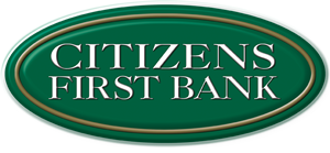 Citizens First Bank logo