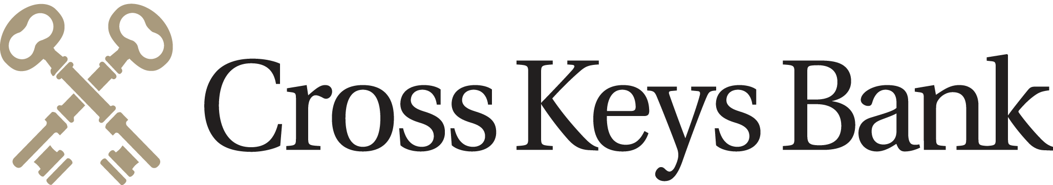 Cross Keys Bank logo