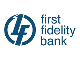 First Fidelity Bank logo
