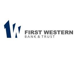 First Western Bank & Trust logo