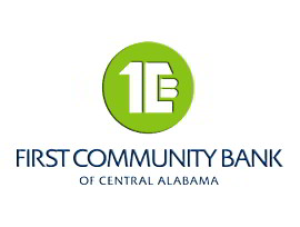 First Community Bank of Central Alabama logo
