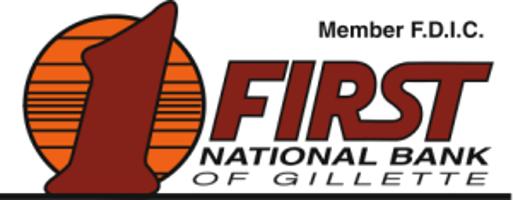 First National Bank of Gillette logo