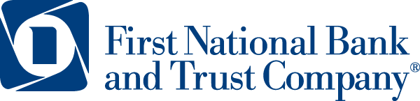 The First National Bank and Trust Company logo