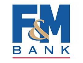 F&M Bank logo