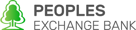 Peoples Exchange Bank logo