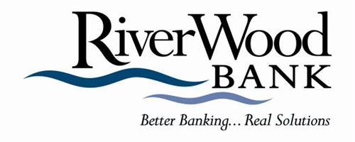 RiverWood Bank logo