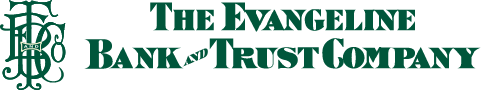 The Evangeline Bank and Trust Company logo