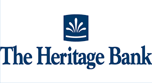 The Heritage Bank logo