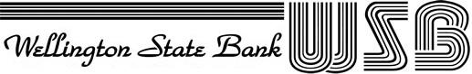 Wellington State Bank logo