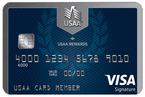 USAA Rewards Visa Signature Card