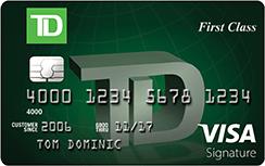 TD First Class(SM) Visa Signature® Credit Card