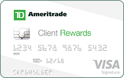 TD Ameritrade Client Rewards Card