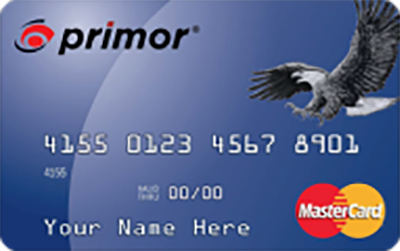 primor® Secured Mastercard Classic Card