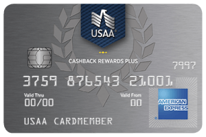 USAA® Cashback Rewards Plus Express® Card