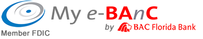 BAC Florida Bank My eBanc™ logo