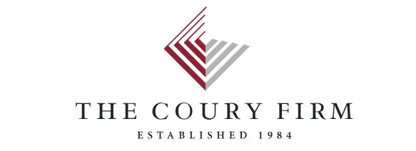 The Coury Firm logo