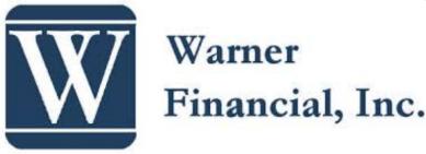 Warner Financial logo