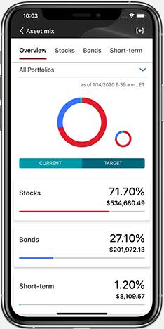 Vanguard mobile app