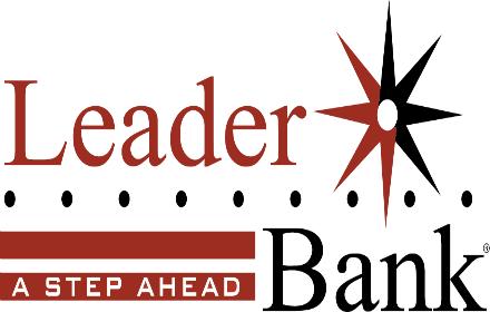 Leader Bank logo